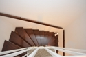 Holztreppe zum Spitzboden