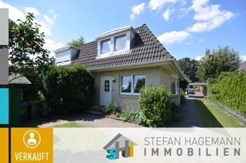 Gepflegte Doppelhaushälfte in Sackgasse von Norderstedt