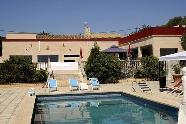 06 Villa Marratxi Terrasse