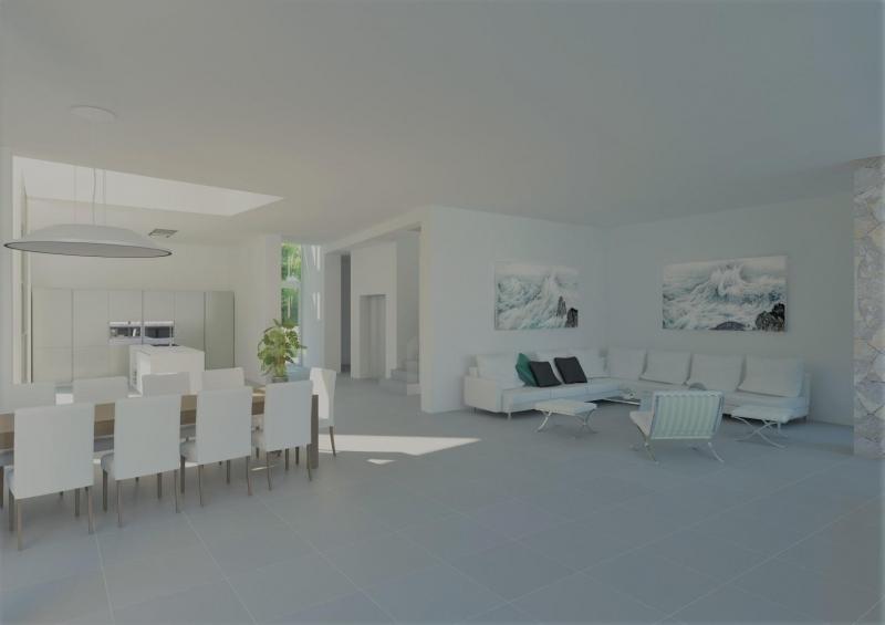Moderne Villa 1. Linie kaufen