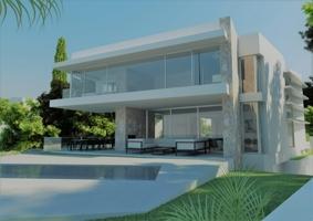 Minimalistische Neubau Villa in 1. Linie zu verkaufen
