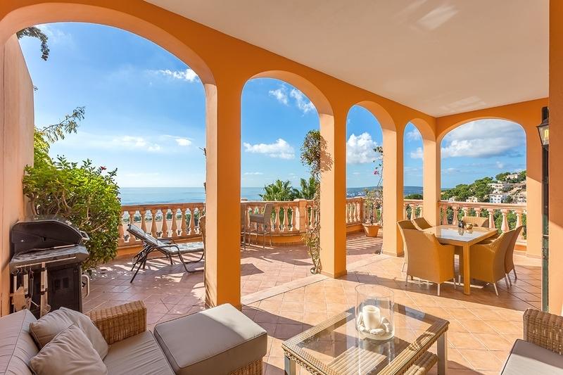 Traumhafte Villa in Costa den Blanes