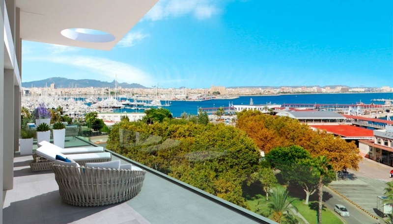 Purchase penthouse in Palma