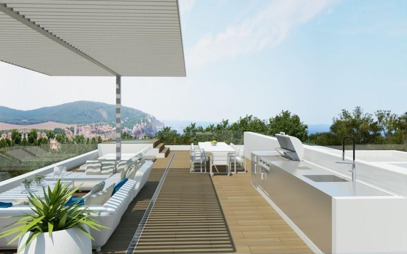Neubau auf Mallorca