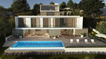 Sea view building plot with licence Mallorca