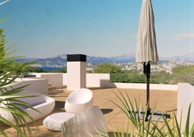 Moderna Vivienda de nueva construccion con Vistas al Mar en Santa Ponsa