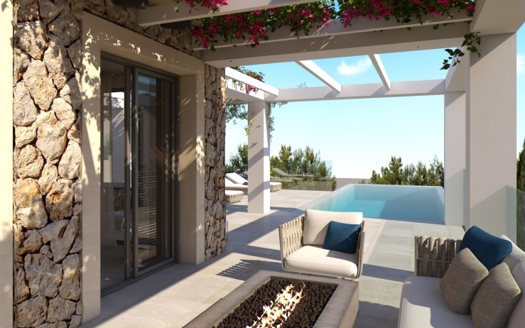 Meerblick Villa Mallorca