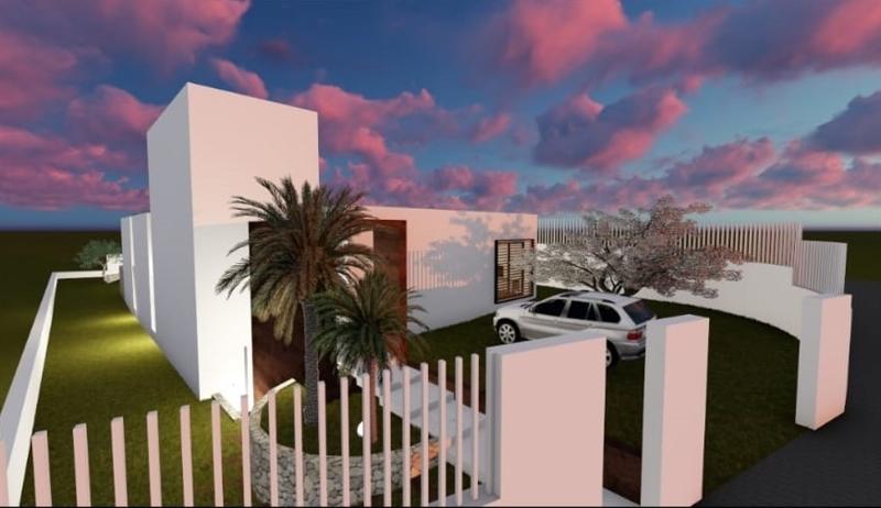 Grundstück mit Projekt