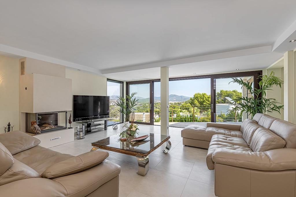 Moderne Meerblick Villa