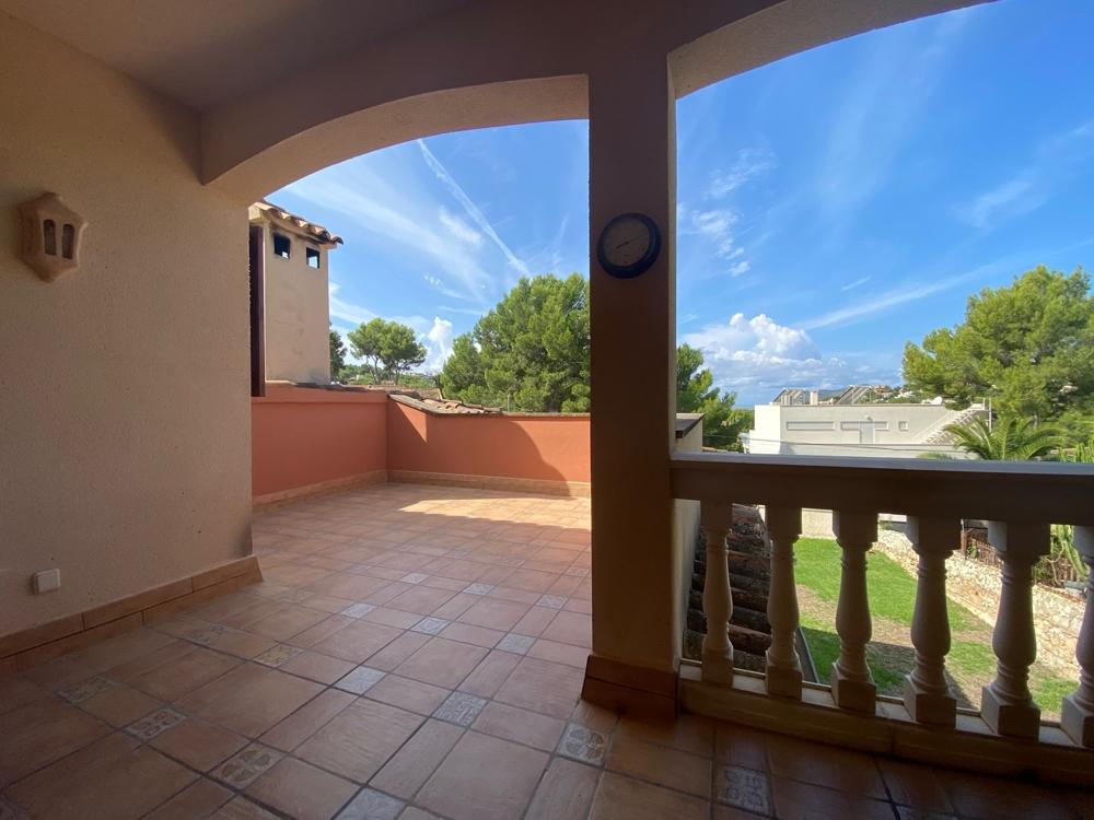 Terrasse oben