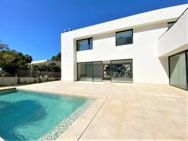 Villa moderna de nueva construcción en Nova Santa Ponsa