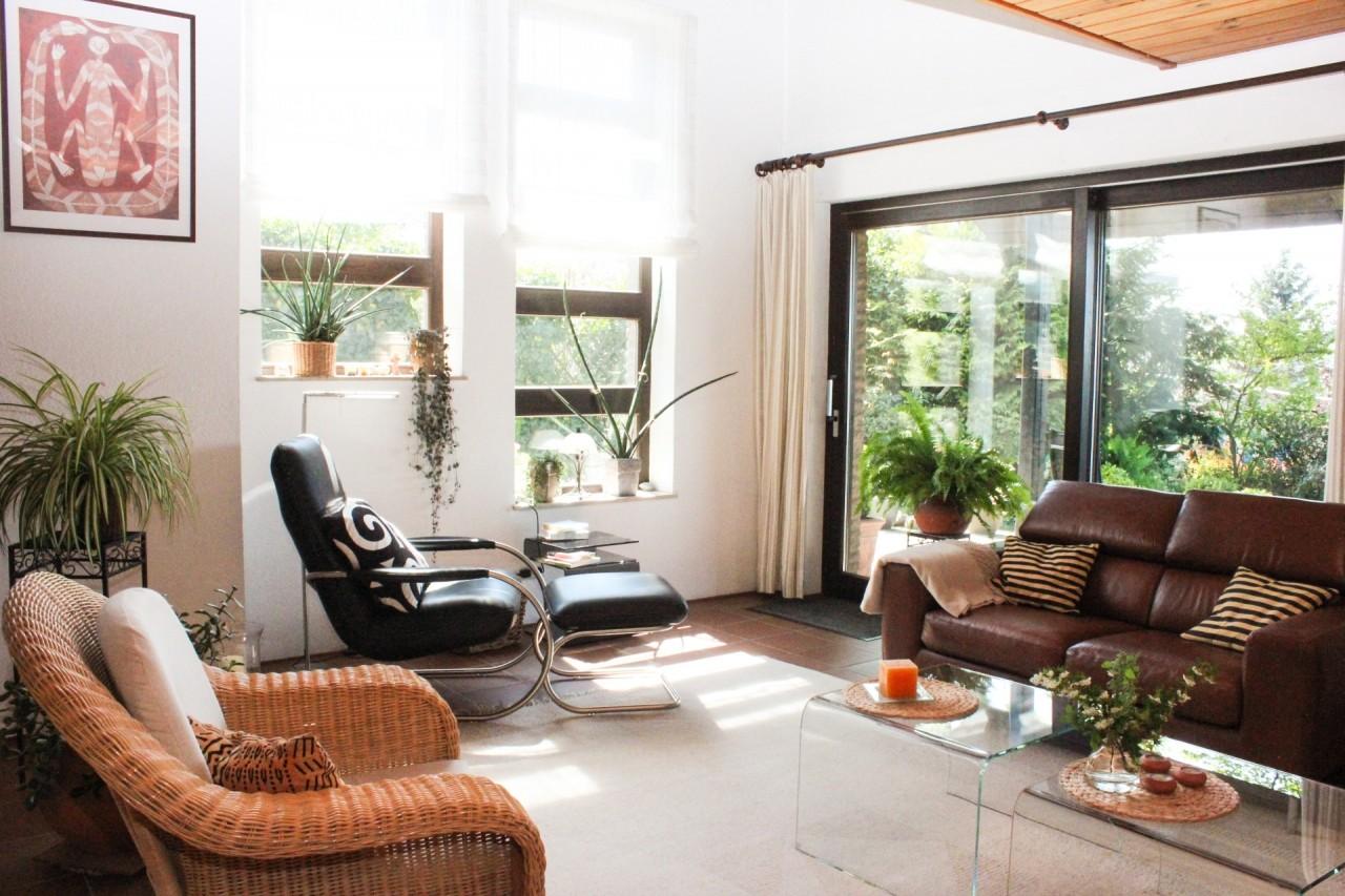 Wohnbereich mit Gartenzugang