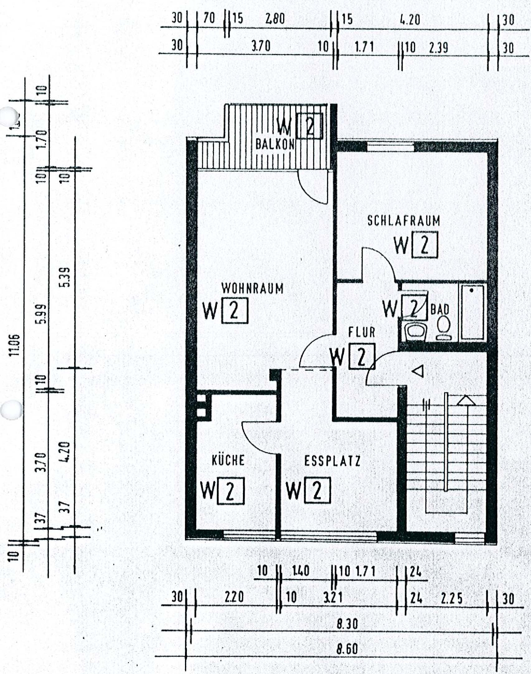 Wohnung 3. Obergeschoss