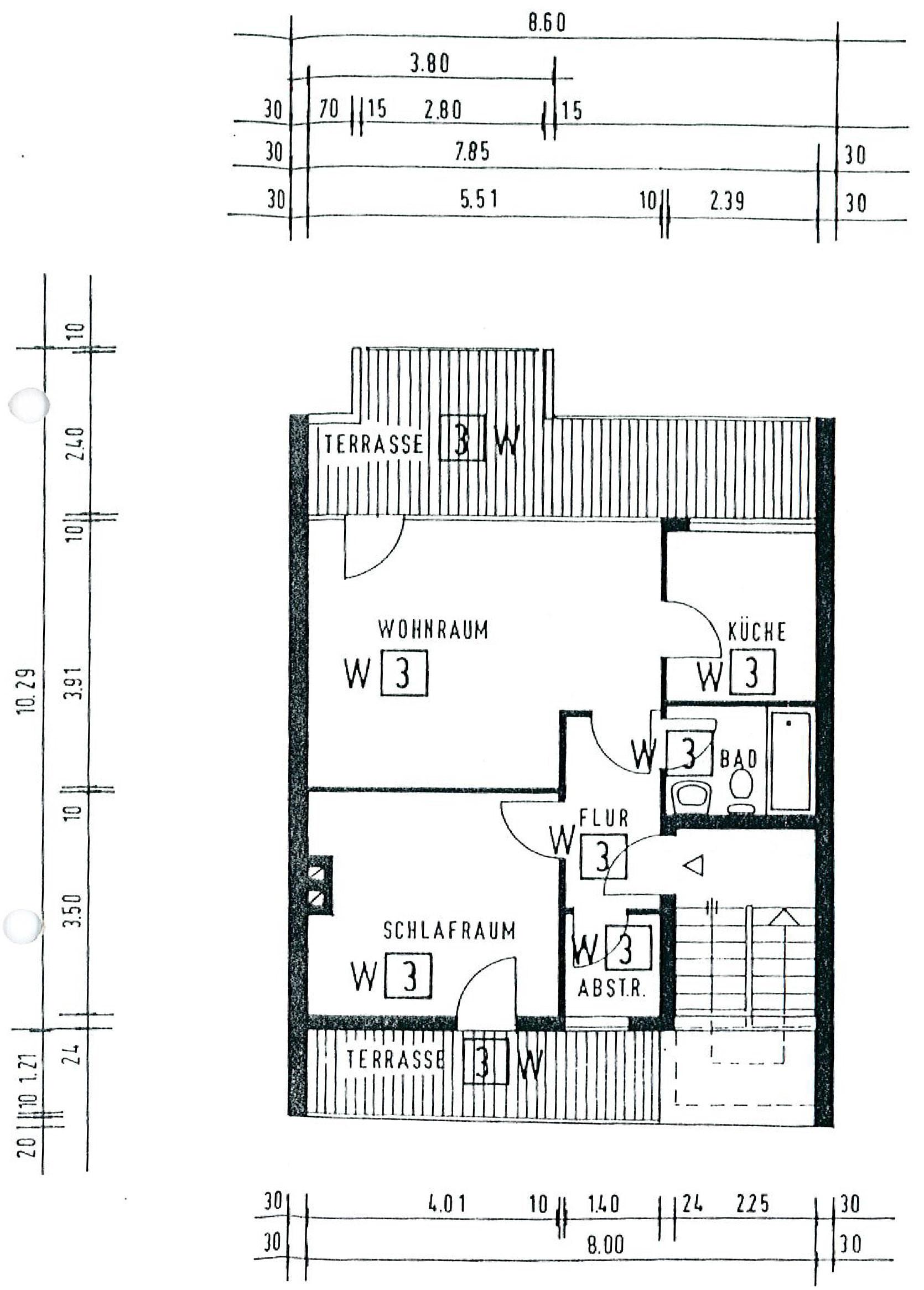 Wohnung 4. Obergeschoss
