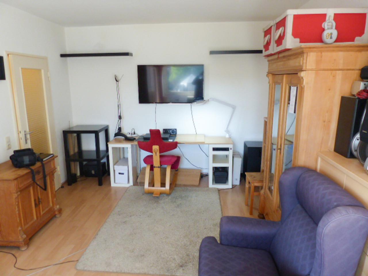 Wohn- und Schlafzimmer 2