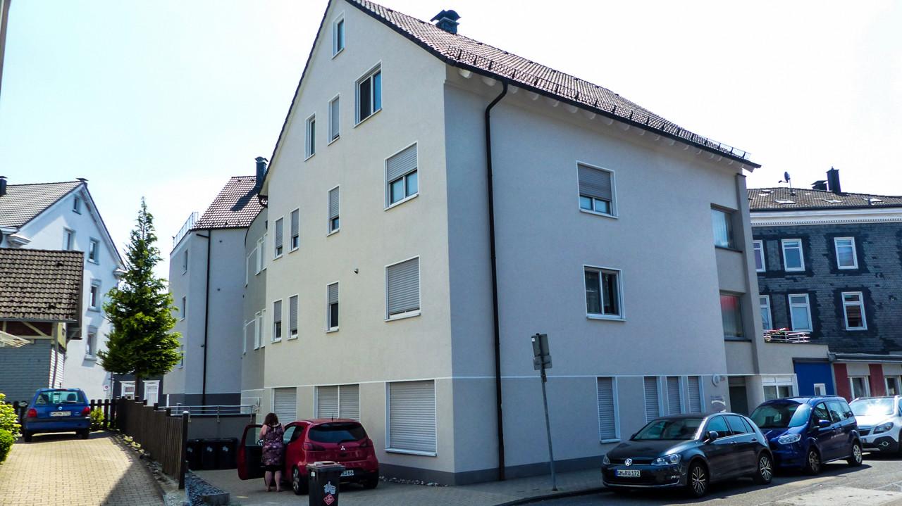 Gebäudeansicht von der Seite