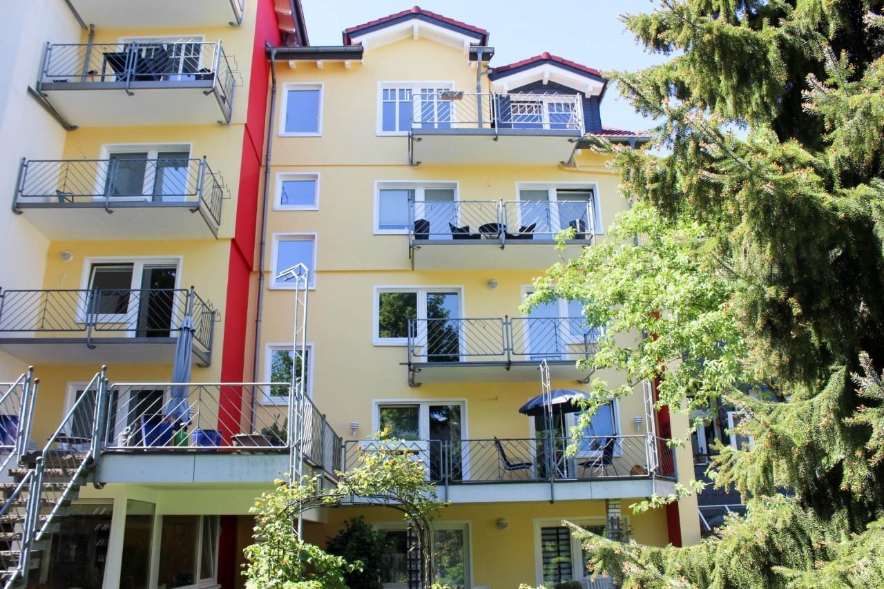 Wohnung im 4. Ober- bzw.Dachgeschoss mit Balkon