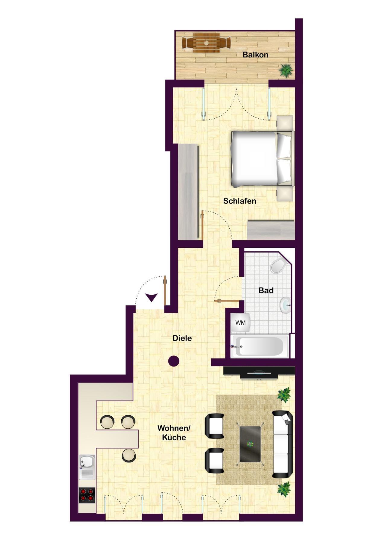 4. OG bzw Dachgeschoss