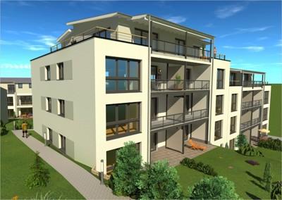 Neubau von barrierearmen Eigentumswohnungen in der Bachstraße