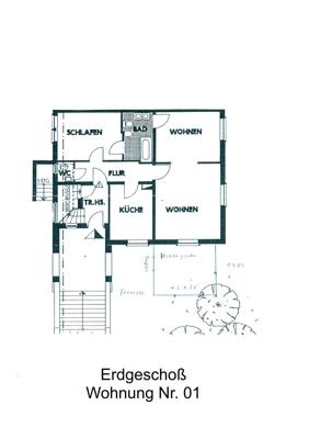 Erdgeschoß Wohnung Nr. 01