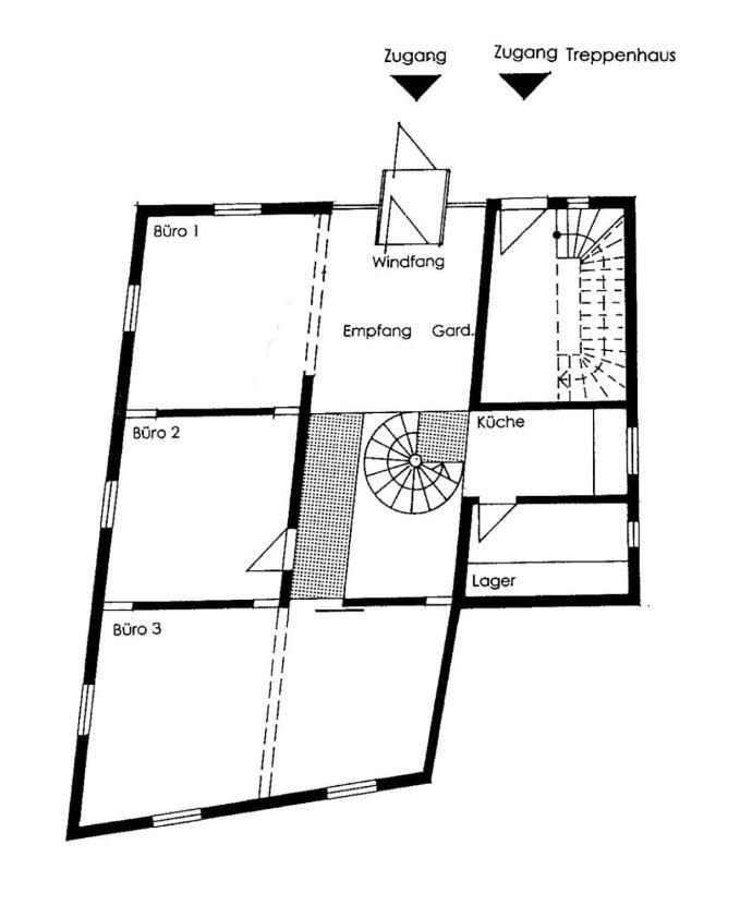 Grundriss EG (Entwurf)