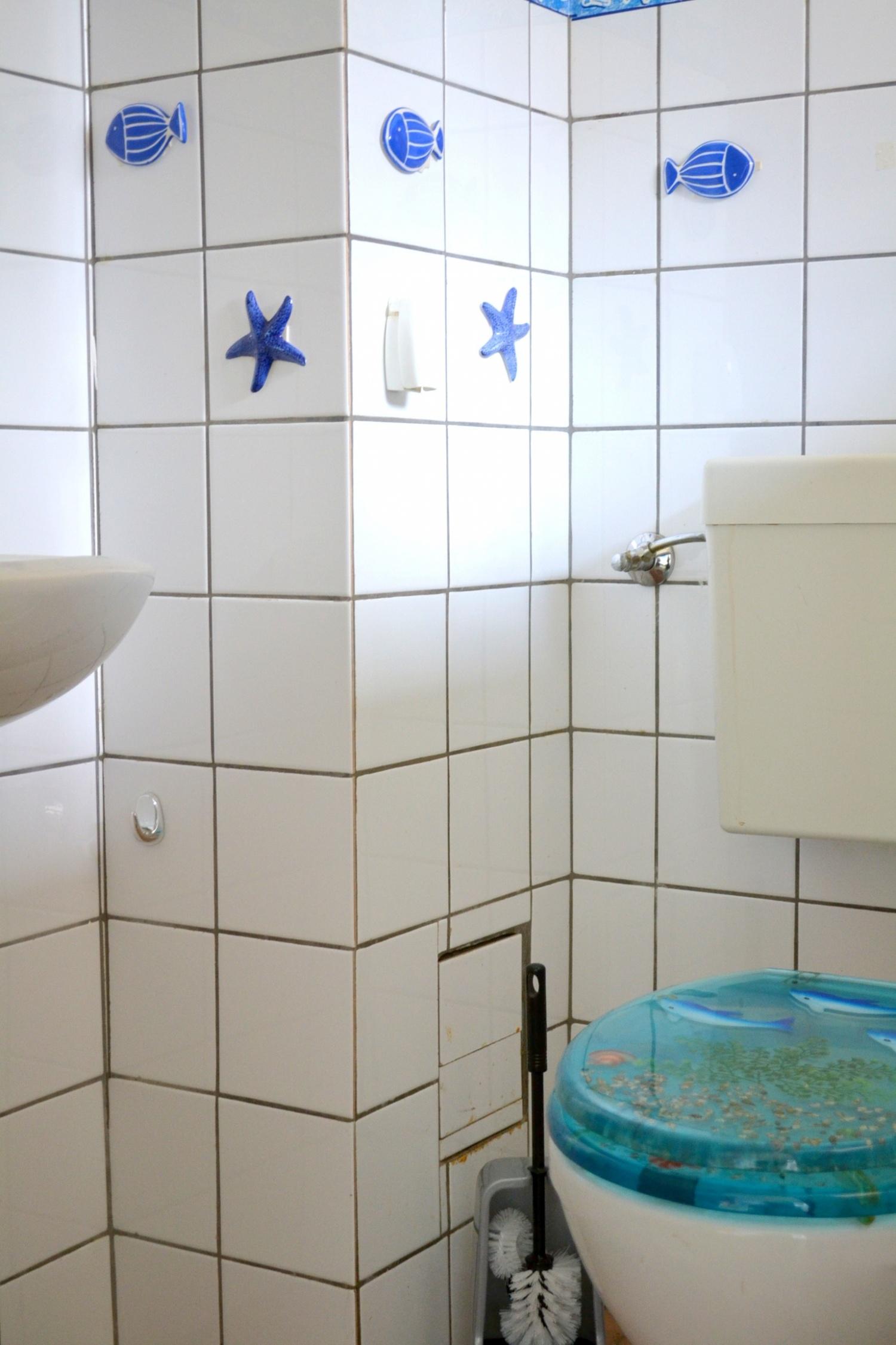 WC hoch