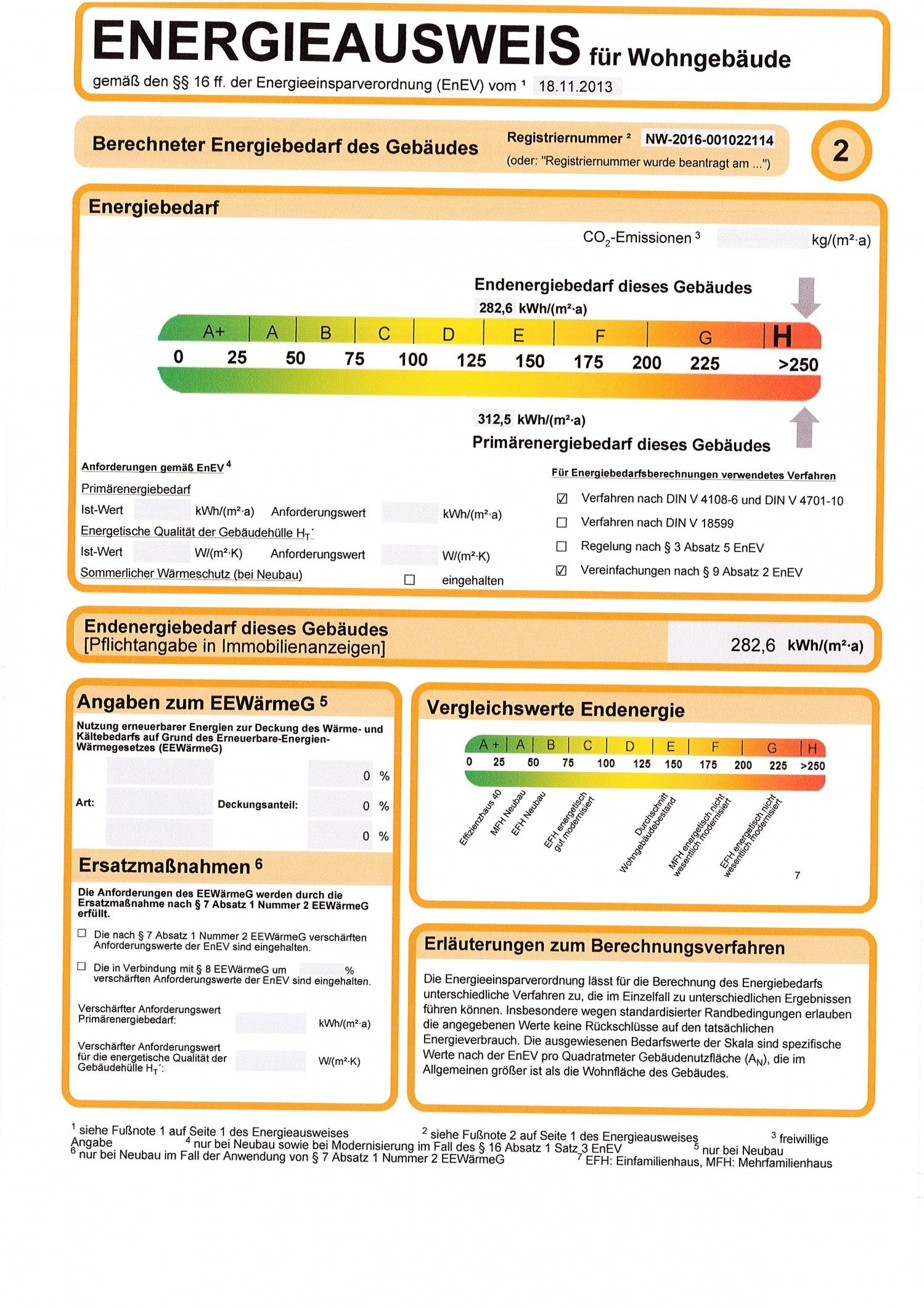 Energieausweis Seite 2