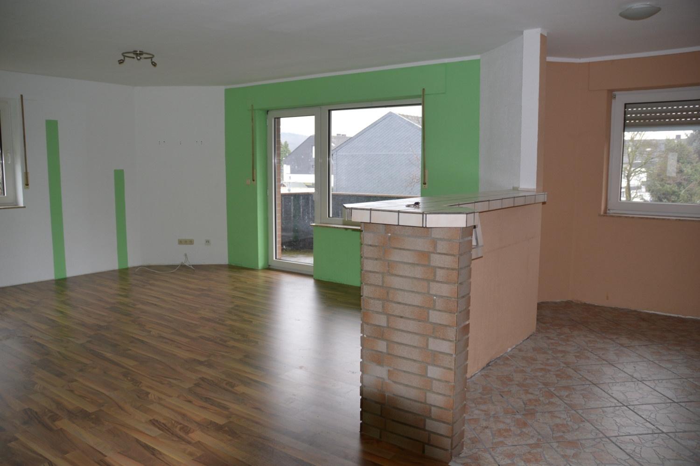 Wohnung mit offener Küche