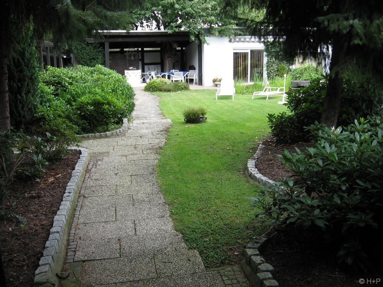 Garten Rücksteite