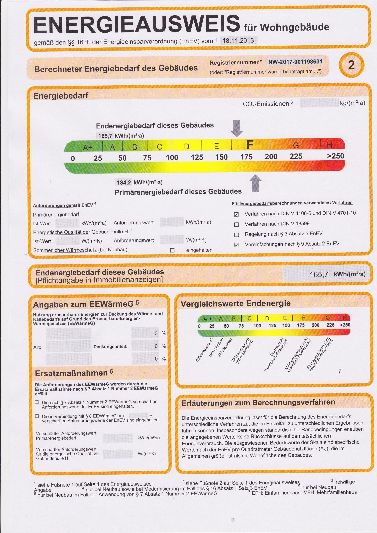 Energieausweis 2