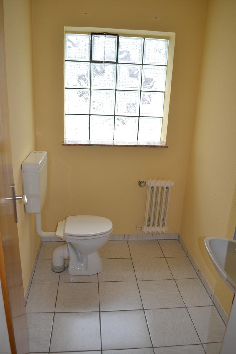 Gäste-WC Souterrain