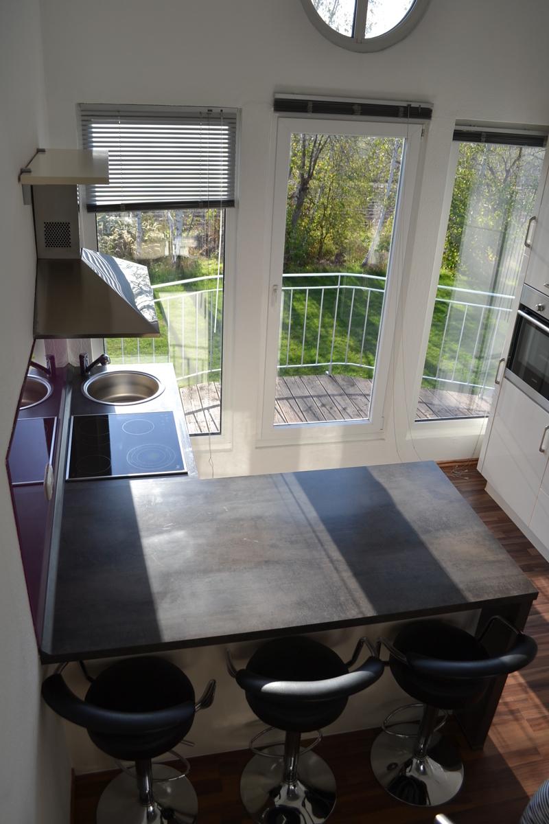 Blick von oben Küche