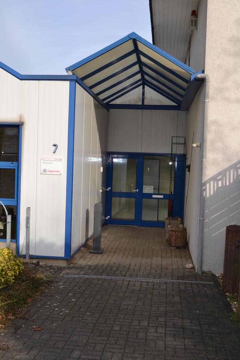 Eingang Firma