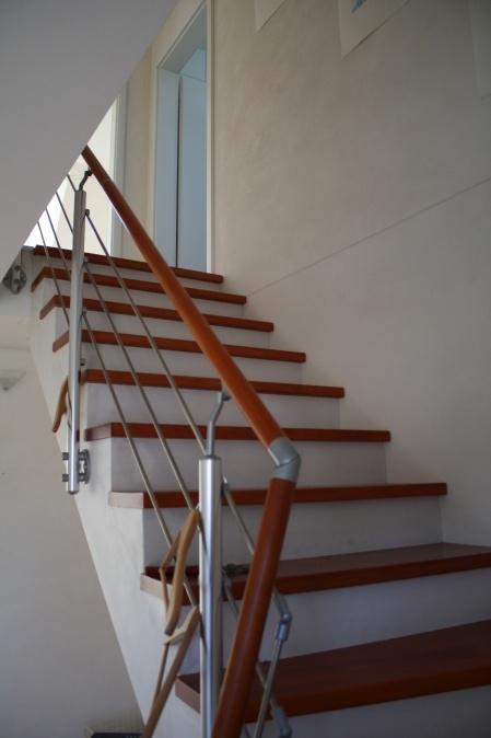 BucheOrangenlasur Treppe