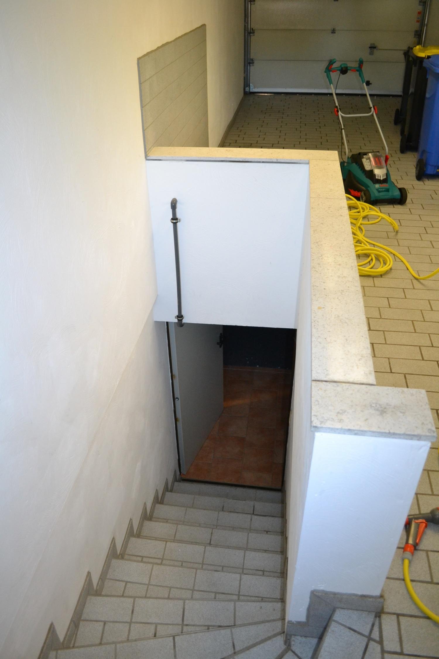 Treppe Garage