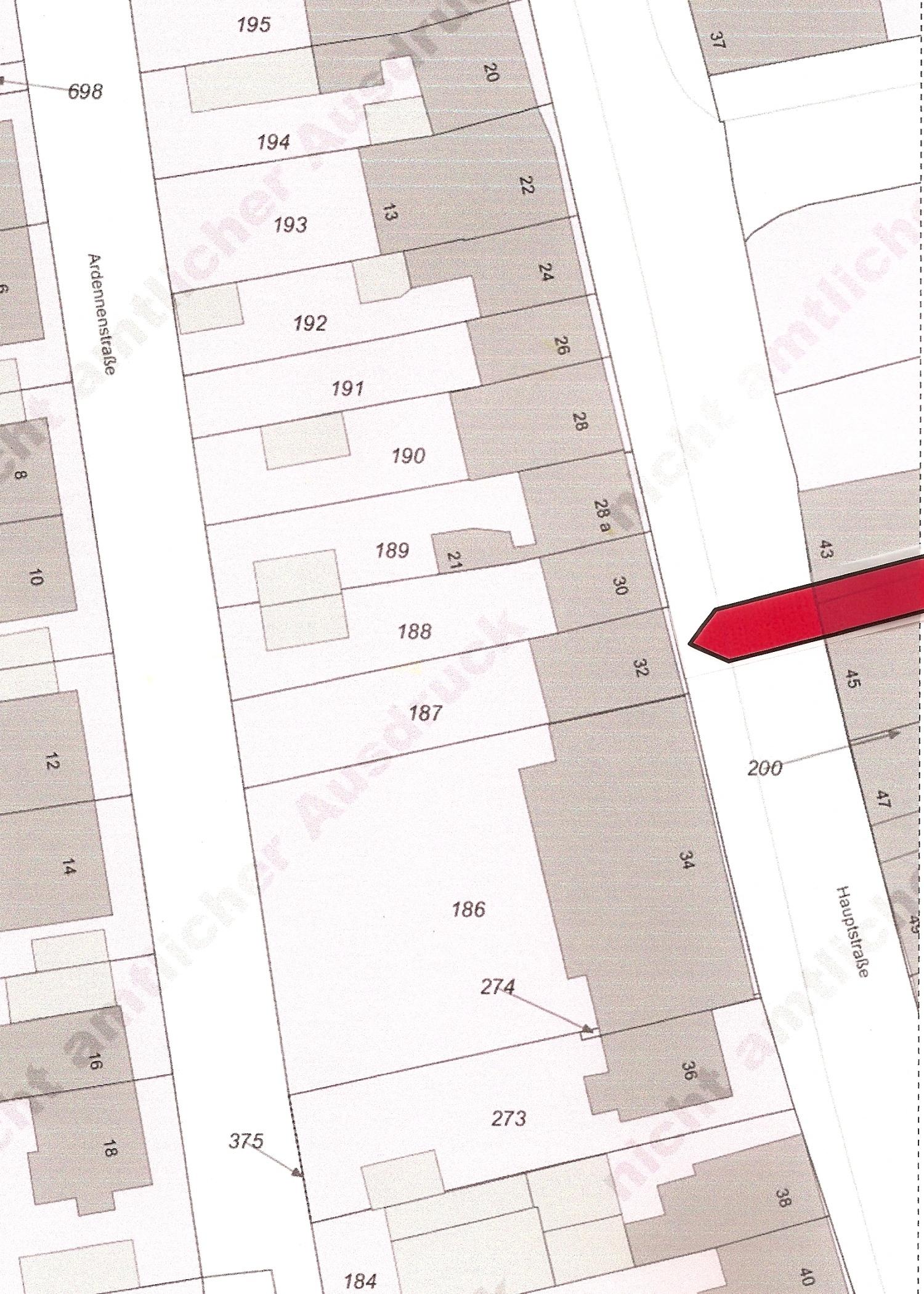 Lageplan Hauptstraße 32