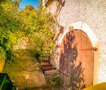 Eingang Gewölbe-/Weinkeller