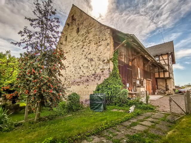 Bauerhaus aus Sicht Bongart