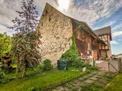 Bauernhaus aus Sicht Bongart