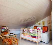 Dachzimmer Schlafbereich