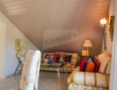 Dachzimmer Loungebereich