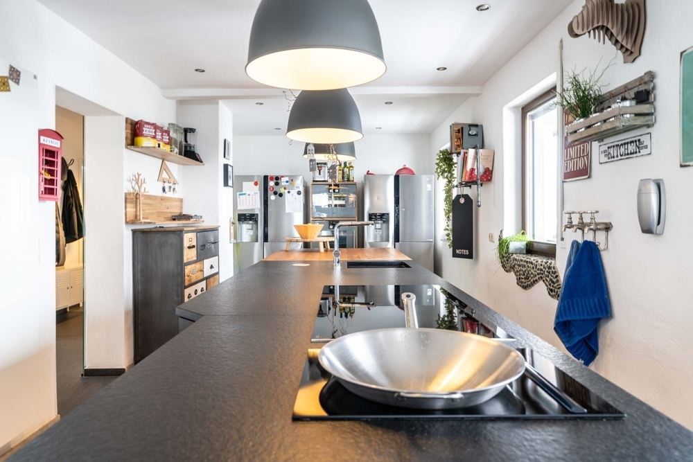 Küche en detail