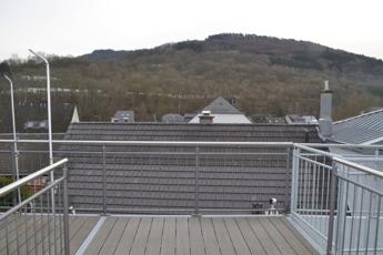 Dachterrassenausblick