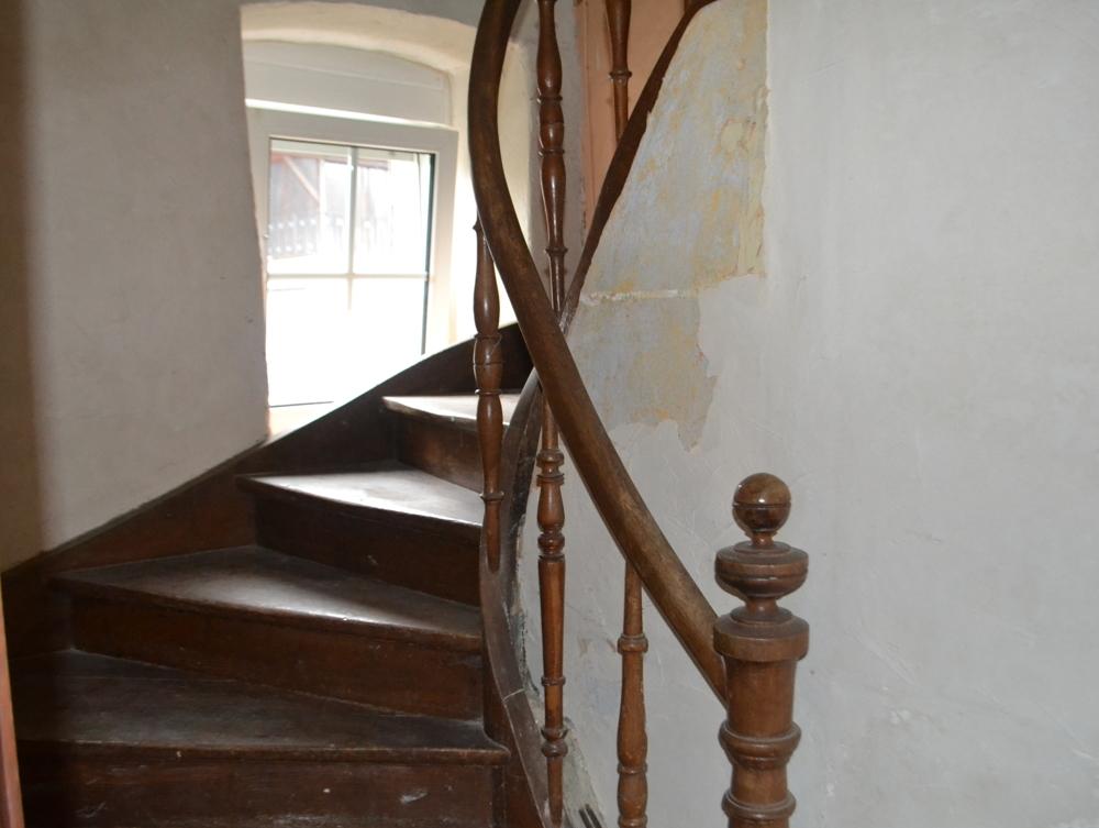 Aufgangstreppe