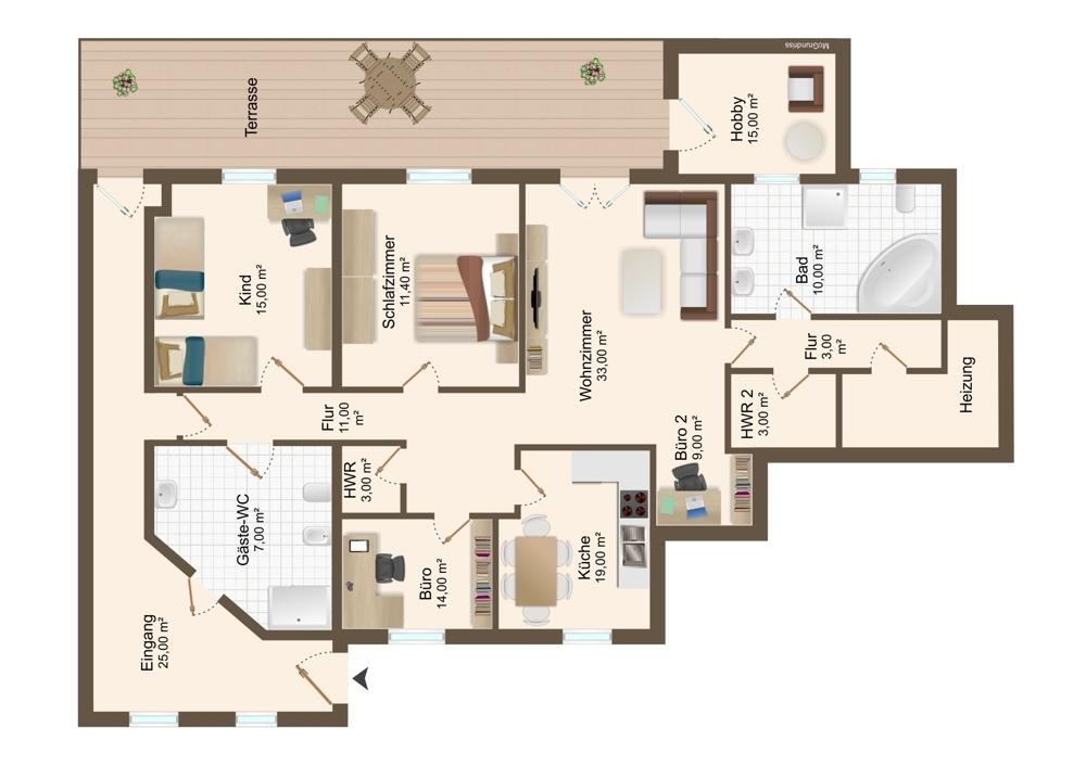 Grundriss_Wohnung EG