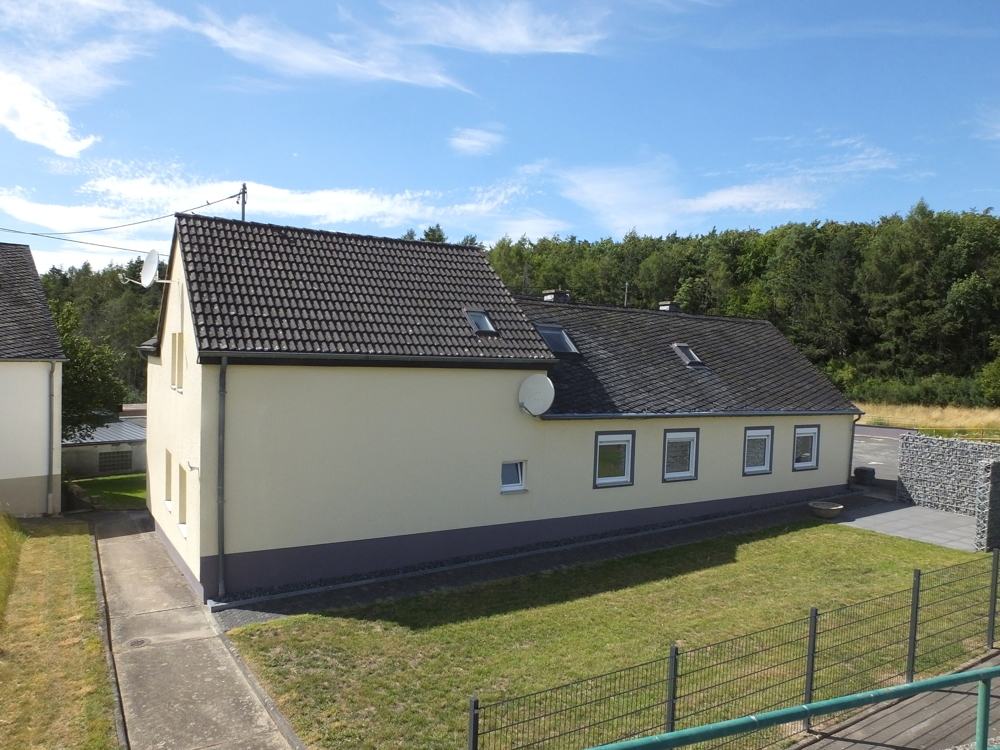 Rückansicht Haus (links)