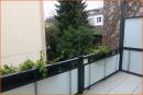 Balkon mit Seitenschutz