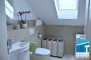 Gäste-WC m. Waschmaschinenanschluß