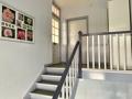das gepflegtes Treppenhaus