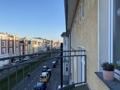 Balkon Straße Nordost